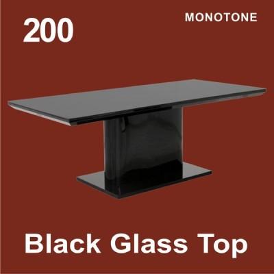 ダイニングテーブル 6人掛け テーブルのみ ガラストップ