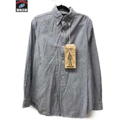 FREEWHEELERS フリーホイーラーズ LsオールドOXドレスBDシャツ(15)サックス[▼]