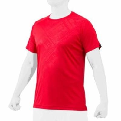 ミズノプロ エンボス・グラフィックTシャツ 【MIZUNO】ミズノ 野球 ウエア ミズノプロ (12JA1T75)
