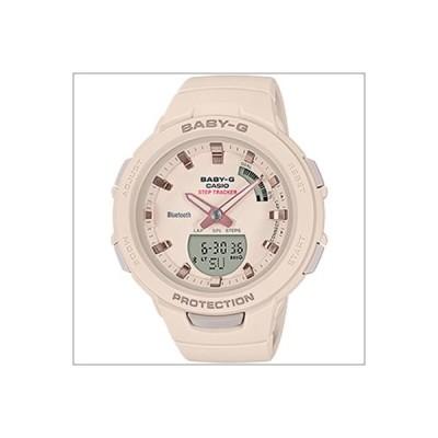 カシオ CASIO 腕時計 BSA-B100-4A1JF BABY-G ベビーG G-SQUAD ジースクワッド スマートフォンリンク Bluetooth クオーツ レディース