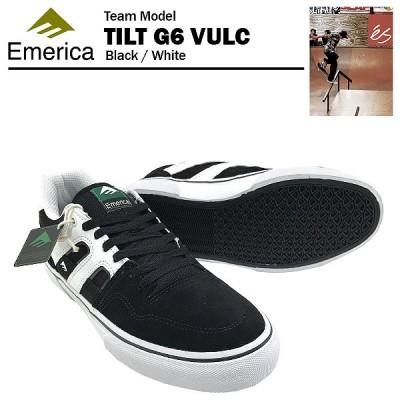 エメリカ チルト G6 バルク ブラック/ホワイト