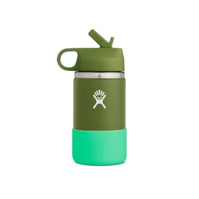 (Hydro Flask)ハイドロフラスク HYDRATION 12oz Wide Mouth KIDS (Olive)