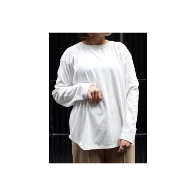 シニヨンスター CHIGNONSTAR オープンバックカットソー レディース フリーサイズ ブラック/オフホワイト Tシャツ 長袖 BACK OPEN L/S TEE -2.COLOR-Lady's-