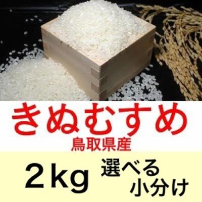 令和元年産 鳥取県産きぬむすめ2kg便利な選べる小分け
