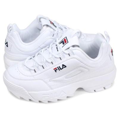 フィラ ディスラプター2 スニーカー メンズ レディース DISRUPTOR 2 ホワイト 白 FS1HTB1071X US5.0-23.0
