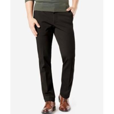 ドッカーズ メンズ カジュアルパンツ ボトムス Men's Workday Smart 360 Flex Straight Fit Khaki Stretch Pants Black