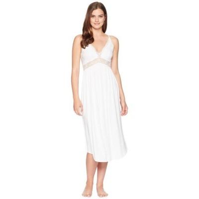 エバージェイ ナイトウェア アンダーウェア レディース Colette Long Gown White