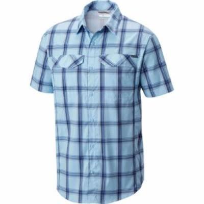 コロンビア 半袖シャツ Columbia Silver Ridge Lite Plaid Short Sleeve Shirt Air Large Plaid