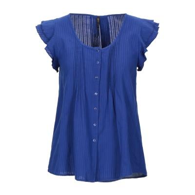マニラ グレース MANILA GRACE シャツ ブライトブルー 44 コットン 100% シャツ