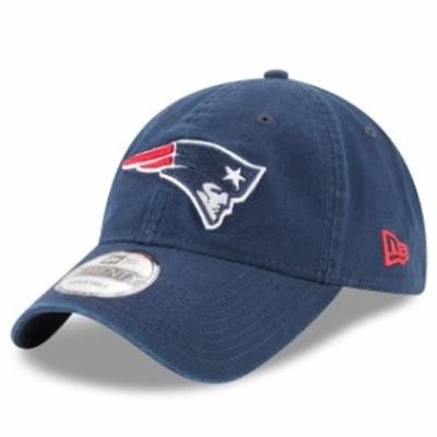 New Era ニュー エラ スポーツ用品  New Era New England Patriots Navy Core Classic 9TWENTY Adjustable Hat