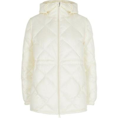 モンクレール Moncler レディース ジャケット シェルジャケット アウター Sargas Off-White Quilted Shell Jacket White
