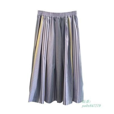 レディース 体型カバー 夏 フリーサイズ カジュアル スカート 秋 着やすい 普段着 美しい 軽快 ゆったり シンプル 春 ボディラインAライン