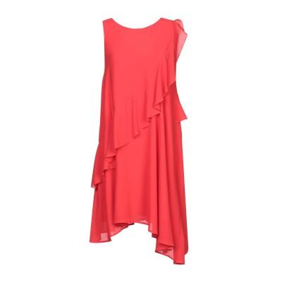 カオス KAOS ミニワンピース&ドレス レッド 40 ポリエステル 100% ミニワンピース&ドレス
