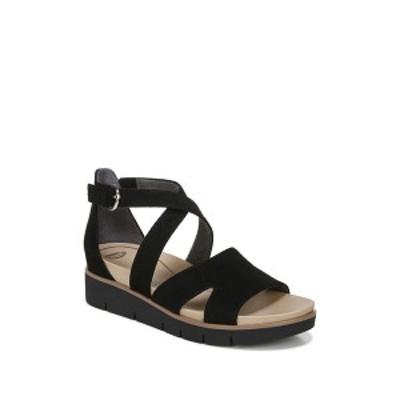 ドクター・ショール レディース サンダル シューズ Good Karma Perforated Platform Sandal BLACK