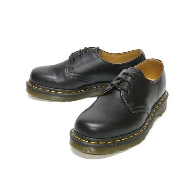 【フットプレイス】 レディース Dr.Martens ドクターマーチン 3ホール ギブソン HI-10085 レディース ブラック 6インチ FOOT PLACE