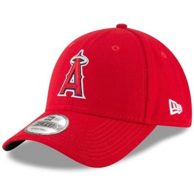 ロサンゼルス・エンゼルス New Era Youth 少年用 Game The League 9FORTY Adjustable キャップ - Red