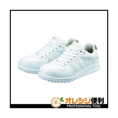 SIMON シモン 耐滑静電プロスニーカー 22.0cm ホワイト NS611WS-22.0 【115-3103】