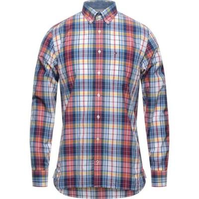 トミー ヒルフィガー TOMMY HILFIGER メンズ シャツ トップス Checked Shirt Red