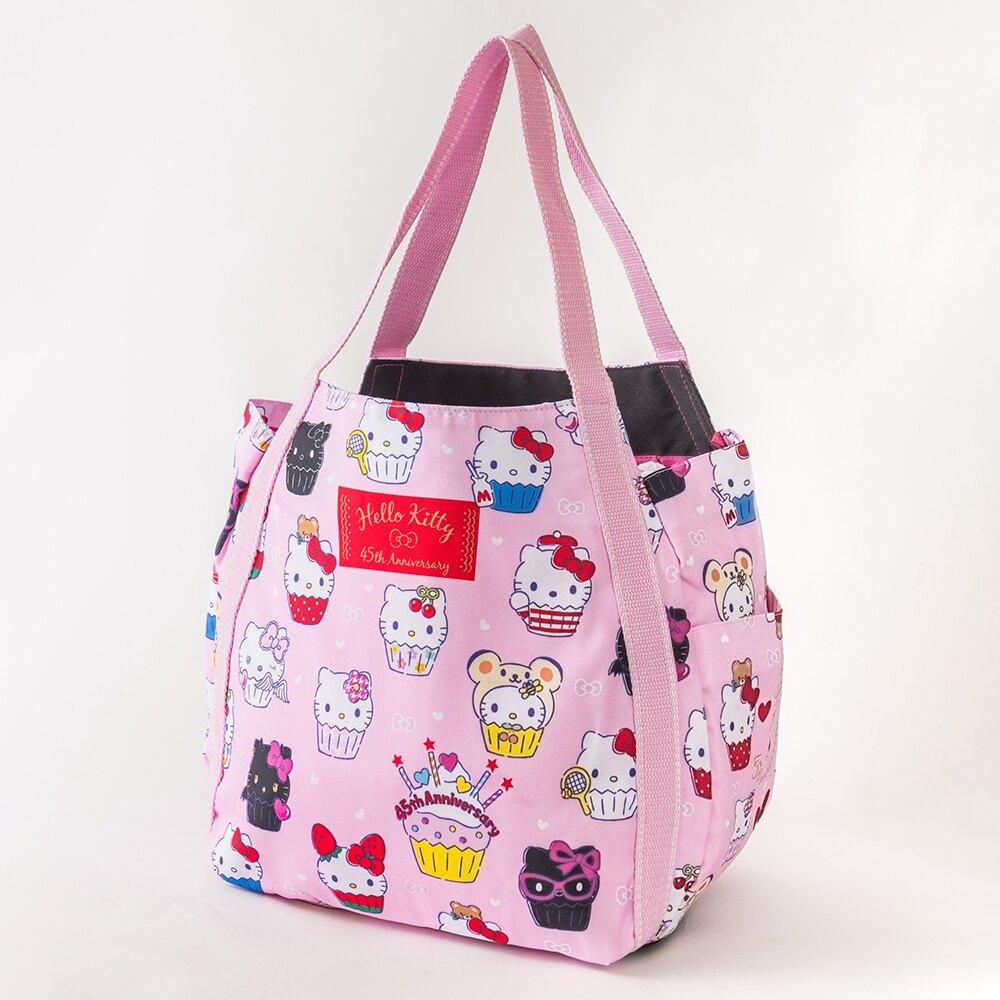 智誠 Hello Kitty 手提側背托特包-大(45週年杯子蛋糕Kitty)