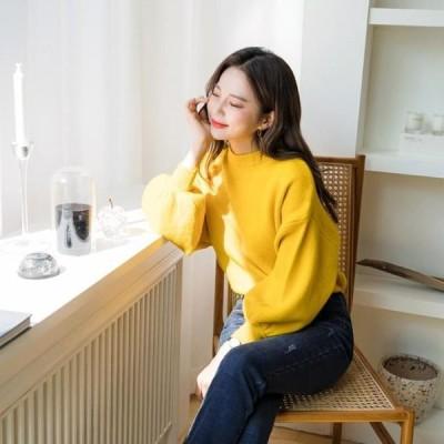 ENVYLOOK レディース ニット/セーター Kindpuff Knitwear
