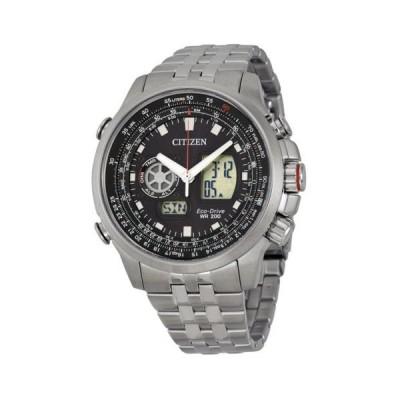 腕時計 ウォッチ シチズン Citizen Promaster Air ブラック ダイヤル メンズ 腕時計 JZ1060-76E
