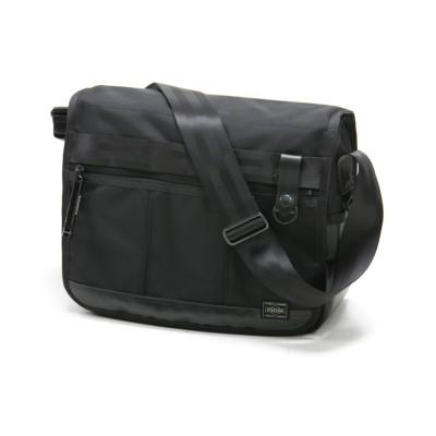 【カバンのセレクション】 吉田カバン ポーター ヒート ショルダーバッグ メンズ レディース ブランド A4 PORTER 703-06973 ユニセックス ブラック フリー Bag&Luggage SELECTION