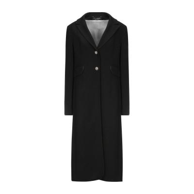 NORA BARTH コート ブラック 46 ポリエステル 62% / レーヨン 33% / ポリウレタン 5% コート