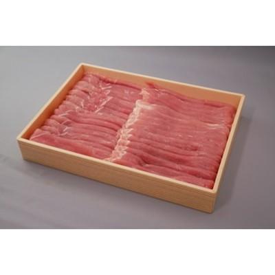 赤身中心のもも肉!銘柄豚肉ローズポーク 約2000g