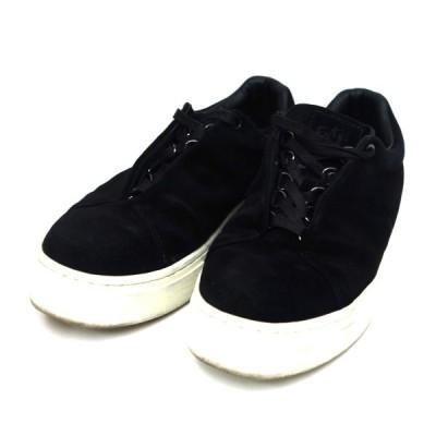 EYTYS スエード厚底スニーカー ブラック サイズ:27.2cm (新宿店ANNEX) 201121