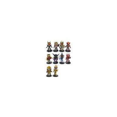 中古トレーディングフィギュア 全10種セット 最強フォーム仮面ライダー デフォルメフ