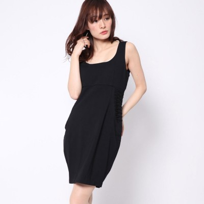 ゲス GUESS DERORA DRESS (JET BLACK)