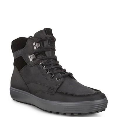 エコー メンズ ブーツ・レインブーツ シューズ Men's Soft 7 Tred Water Resistant Ankle Boots