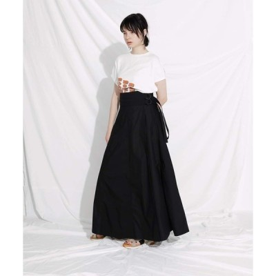 スカート F/CE. SWITCHED WRAP LONG SKIRT / エフシーイー ラップ ロングスカート