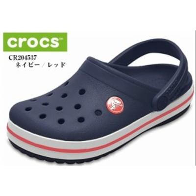 crocs(クロックス) クロックバンド Crocband 204537(I) キッズ サンダル クロックバッドのキッズスタイルがホールサイズで再登場 定番モ