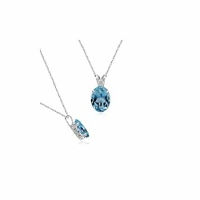 1/2 (0.46-0.55) Cts of 6x4 mm Oval Heirloom Quality Aquamarine Scroll Pendant in Platinum