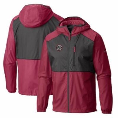 Columbia コロンビア スポーツ用品  Columbia Toronto Raptors Red Flash Forward Full-Zip Windbreaker Jacket