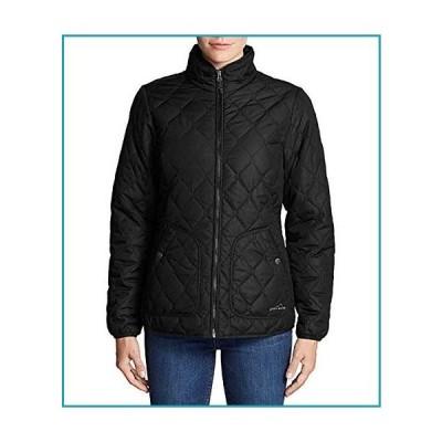 Eddie Bauer レディース 一年中使えるキルトフィールドジャケット US サイズ: Medium カラー: ブラック【並行