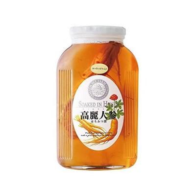 高麗人参はちみつ漬 1kg(ローヤルゼリー入)