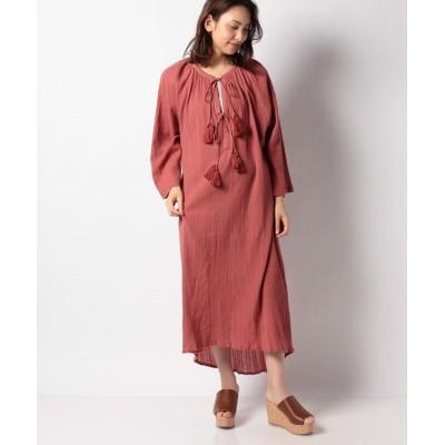 【スピックアンドスパン アウトレット】 LA CABANE DE STELLA LILLY DRESS レディース ピンク フリー Spick & Span OUTLET