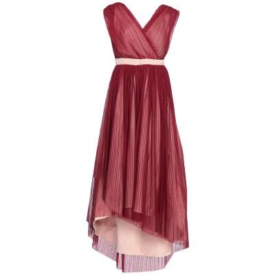 ピンコ PINKO ロングワンピース&ドレス ボルドー 38 ポリエステル 100% ロングワンピース&ドレス