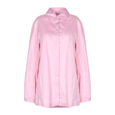 'S MAX MARA シャツ ピンク 42 コットン 78% / ナイロン 18% / ポリウレタン 4% シャツ