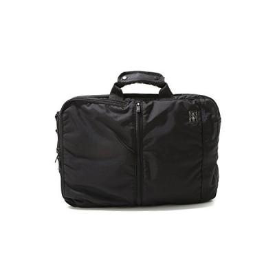 (ポーター) PORTER 3wayビジネスバッグ ショルダーバッグ リュックサック [フラッシュ] 1.ブラック