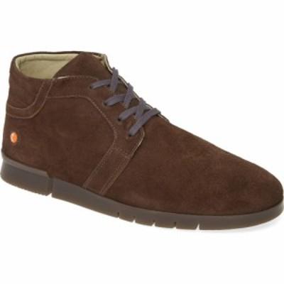 フライロンドン SOFTINOS BY FLY LONDON メンズ ブーツ シューズ・靴 Cul Boot Grey Ranch Leather
