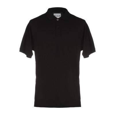 ジョン リッチモンド JOHN RICHMOND ポロシャツ ブラック S コットン 95% / ポリウレタン 5% ポロシャツ