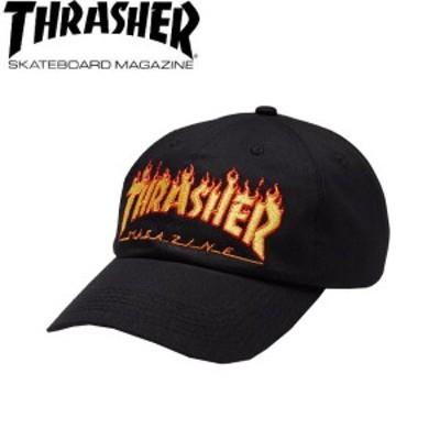 【THRASHER】スラッシャー 2018秋 FALL フォール FLAME OLD TIMER HAT メンズ レディース ローキャップ 帽子