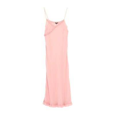 アン ドゥムルメステール ANN DEMEULEMEESTER ロングワンピース&ドレス ピンク 40 シルク 100% ロングワンピース&ドレス