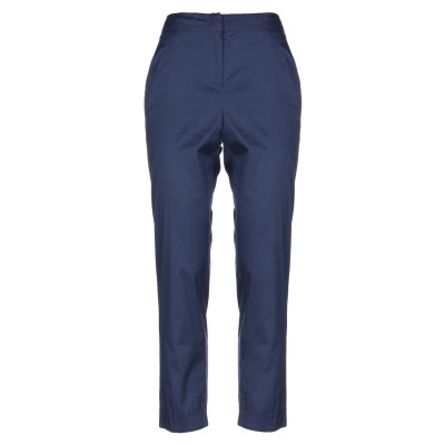 I BLUES パンツ ダークブルー 40 コットン 70% / ナイロン 25% / ポリウレタン 5% パンツ