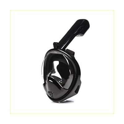 LOVEPET Children Snorkeling Mask 180° Panoramic View Anti-Fog Camera Compatible Diving Mask Black,Double【並行輸入品】