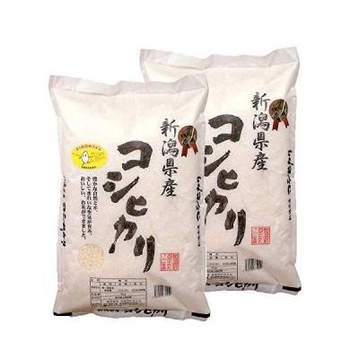 《令和2年産》【受注精米】令和2年産新潟県産コシヒカリ 5kg×2袋 (精米)