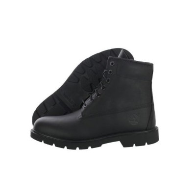 """ティンバーランド Timberland 6"""" Basic TB010069 Waterproof レザー ブラック ブーツ ミディアム (D, M) メンズブーツ"""